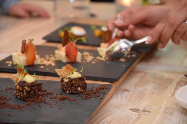 Loopfiets plezier + Shared dining